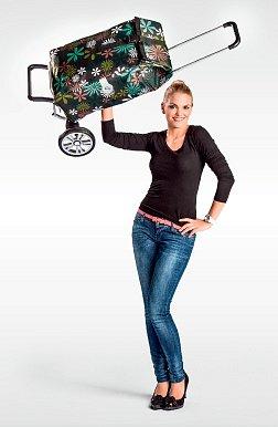 ALU STAR SHOPPER® - lehká nákupní taška na kolečkách