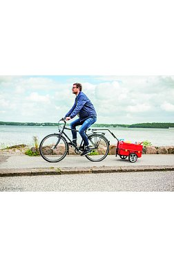 Přívěsné vozíky za jízdní kolo