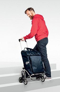TREPPENSTEIGER ROYAL SHOPPER® - nákupní taška do schodů ALU