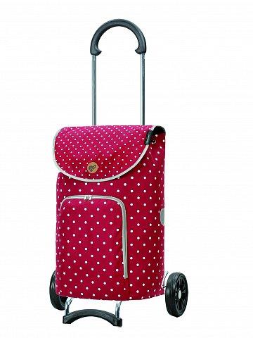 Nákupní taška na kolečkách Andersen Scala Shopper Ole červená
