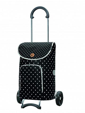 Nákupní taška na kolečkách Andersen Scala Shopper Ole černá