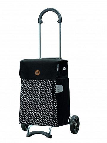Nákupní taška na kolečkách Andersen Scala Shopper Tuva černá, 38l