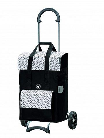 Nákupní taška na kolečkách Andersen Scala Shopper Jara bílá, 51l