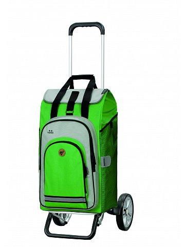 Nákupní taška na kolečkách Andersen Alu Star Shopper Hydro 2.0 zelená