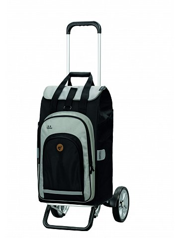 Nákupní taška na kolečkách Andersen Alu Star Shopper Hydro 2.0 černá