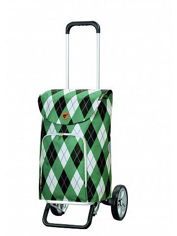Nákupní taška na kolečkách Andersen Alu Star Shopper Arik, zelená, 41l