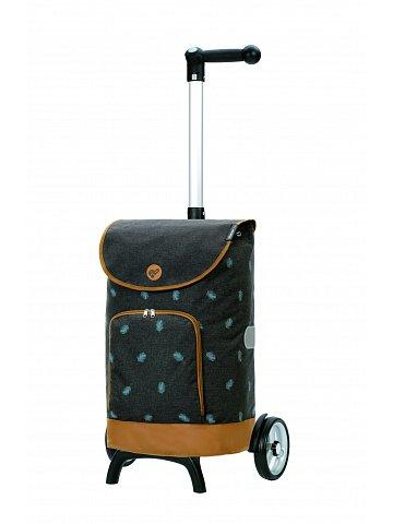 Nákupní taška na kolečkách Andersen Unus Shopper Fun Holm šedá