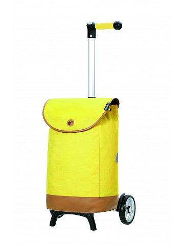 Nákupní taška na kolečkách Andersen Unus Shopper Fun Emil žlutá