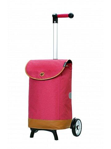 Nákupní taška na kolečkách Andersen Unus Shopper Fun Emil červená