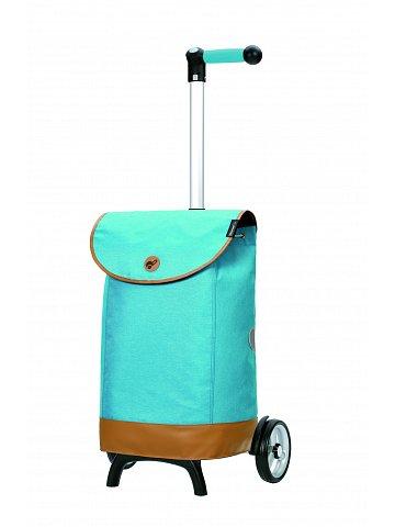 Nákupní taška na kolečkách Andersen Unus Shopper Fun Emil modrá