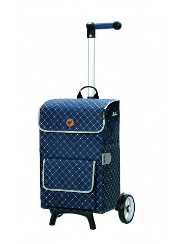 Nákupní taška na kolečkách Andersen Unus Shopper Fun Tamo modrá