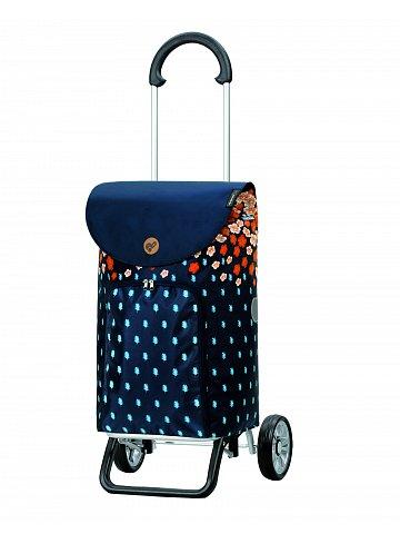 Nákupní taška na kolečkách Andersen Scala Shopper Plus Lily, oranžová, 41l