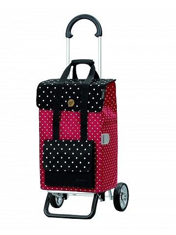 Nákupní taška na kolečkách Andersen Scala Shopper Plus Rul, červená, 51l