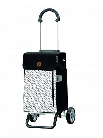 Nákupní taška na kolečkách Andersen Scala Shopper Plus Tuva, bílá, 38l