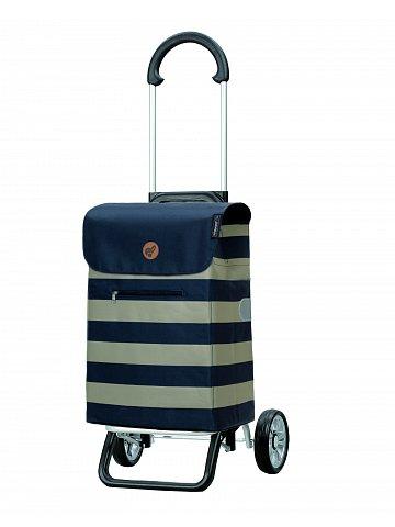 Nákupní taška na kolečkách Andersen Scala Shopper Plus Lina, modrá, 34l