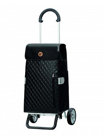 Nákupní taška na kolečkách Andersen Scala Shopper Plus Mari, černá, 45l