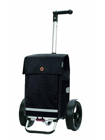 Velká taška na kolečkách Andersen Tura Shopper Martje černá