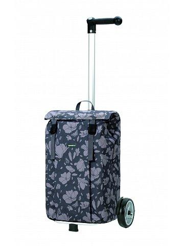 Nákupní taška na kolečkách Andersen Unus Shopper Basil Mag. šedá