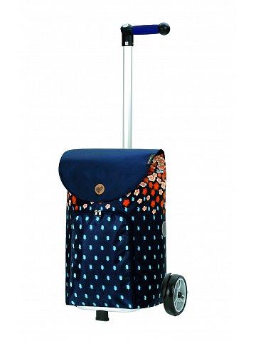 Nákupní taška na kolečkách Andersen Unus Shopper Lily oranžová