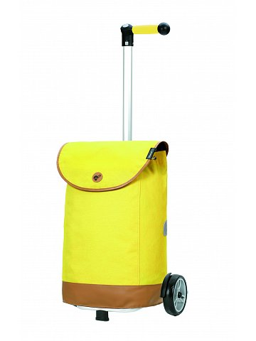 Nákupní taška na kolečkách Andersen Unus Shopper Emil žlutá