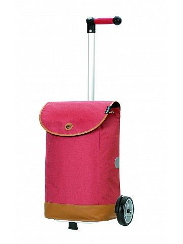 Nákupní taška na kolečkách Andersen Unus Shopper Emil červená