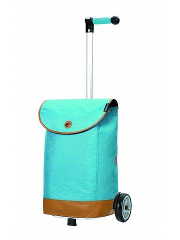 Nákupní taška na kolečkách Andersen Unus Shopper Emil modrá