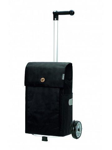 Nákupní taška na kolečkách Andersen Unus Shopper Jante černá