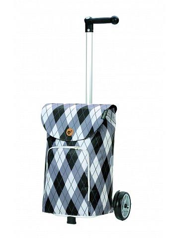 Nákupní taška na kolečkách Andersen Unus Shopper Arik šedá