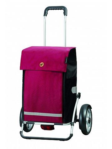 Velká taška na kolečkách Andersen Royal Shopper Plus Martje červená