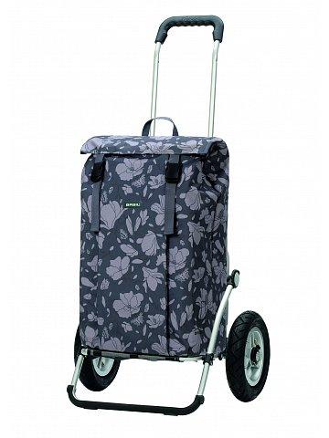 Nákupní taška na kolečkách Andersen Royal Shopper Basil Mag. šedá