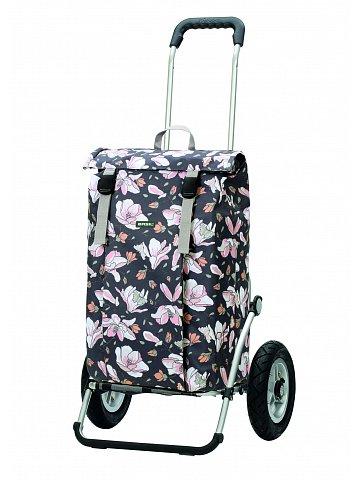 Nákupní taška na kolečkách Andersen Royal Shopper Basil Mag. rosa