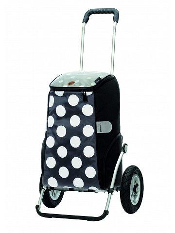 Nákupní taška na kolečkách Andersen Royal Shopper Mats šedá