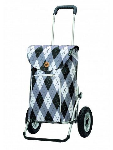 Nákupní taška na kolečkách Andersen Royal Shopper Arik šedá