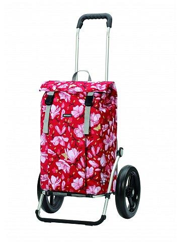 Nákupní taška na kolečkách Andersen Royal Shopper Basil Mag. červená