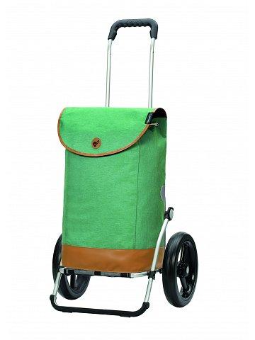 Nákupní taška na kolečkách Andersen Royal Shopper Emil zelená