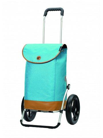 Nákupní taška na kolečkách Andersen Royal Shopper Emil modrá