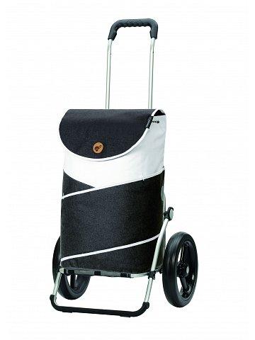 Nákupní taška na kolečkách Andersen Royal Shopper  Jarl šedá