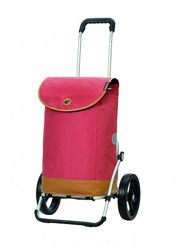 Nákupní taška na kolečkách Andersen Royal Shopper Emil červená