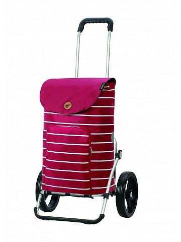 Nákupní taška na kolečkách Andersen Royal Shopper Mia červená