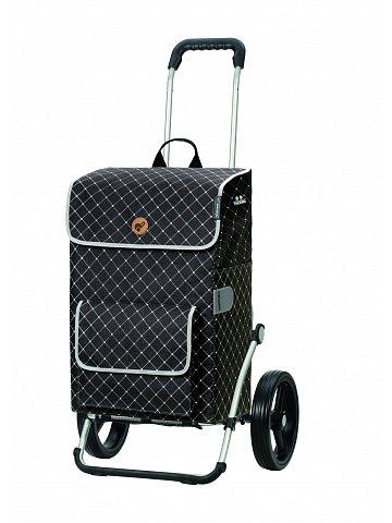 Nákupní taška na kolečkách Andersen Royal Shopper Tamo šedá