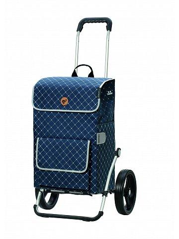 Nákupní taška na kolečkách Andersen Royal Shopper Tamo modrá