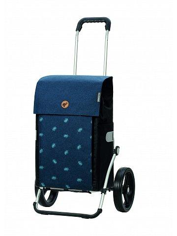 Nákupní taška na kolečkách Andersen Royal Shopper Ando modrá