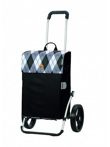 Nákupní taška na kolečkách Andersen Royal Shopper Anea šedá