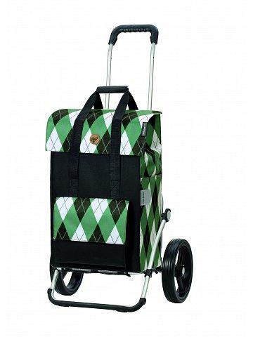 Nákupní taška na kolečkách Andersen Royal Shopper Ine zelená