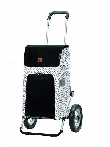 Nákupní taška na kolečkách Andersen Royal Shopper Mara bílá