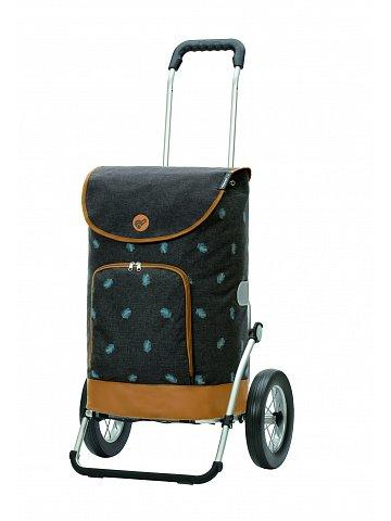 Nákupní taška na kolečkách Andersen Royal Shopper Holm šedá