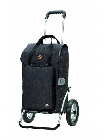 Nákupní taška na kolečkách Andersen Royal Shopper Ivar šedá