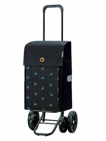 Nákupní taška na kolečkách Andersen Quattro Shopper Ando šedá