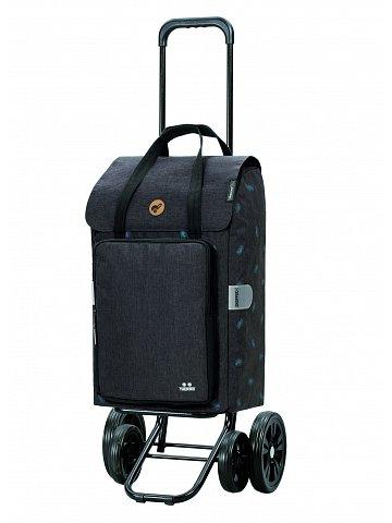 Nákupní taška na kolečkách Andersen Quattro Shopper Ivar šedá