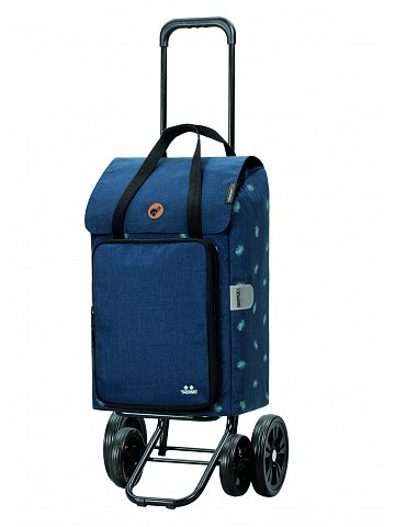Nákupní taška na kolečkách Andersen Quattro Shopper Ivar modrá